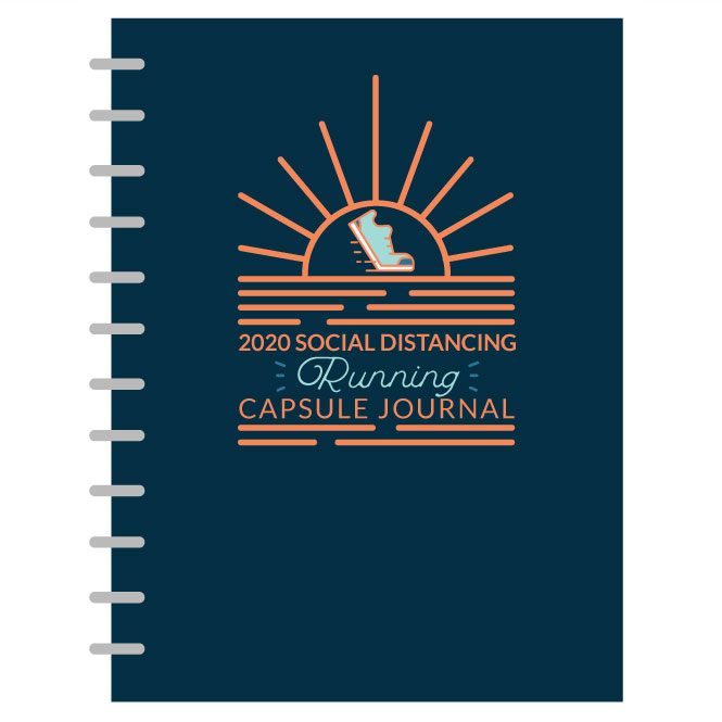 Social Distancing COVID-19 Running Capsule Journal